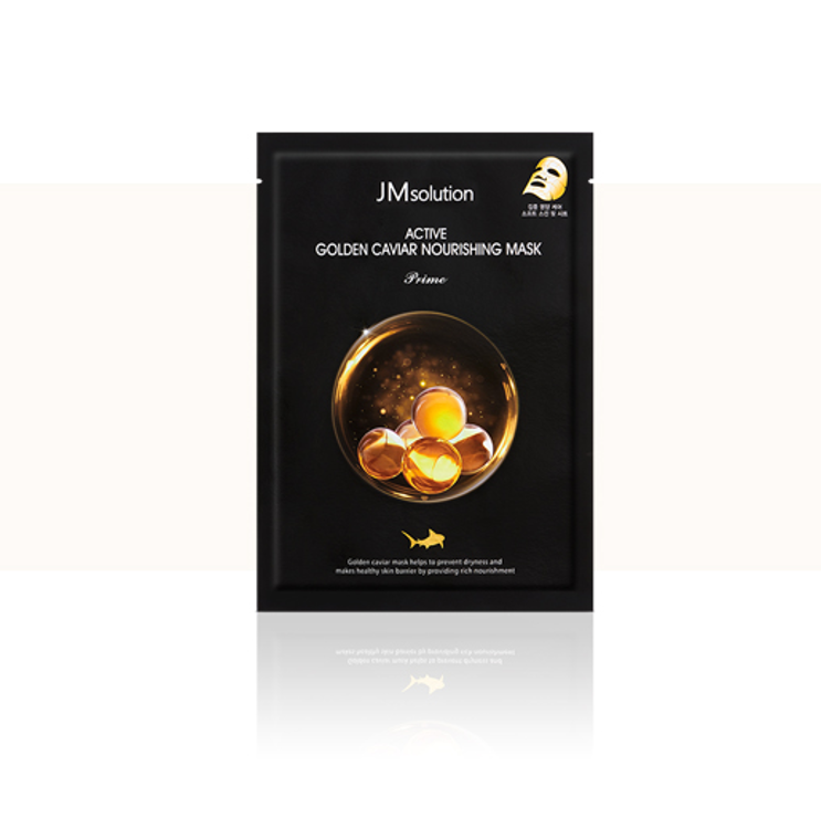 Picture of JM SOLUTION Active Golden Caviar Nourishing Mask (1 Sheet)