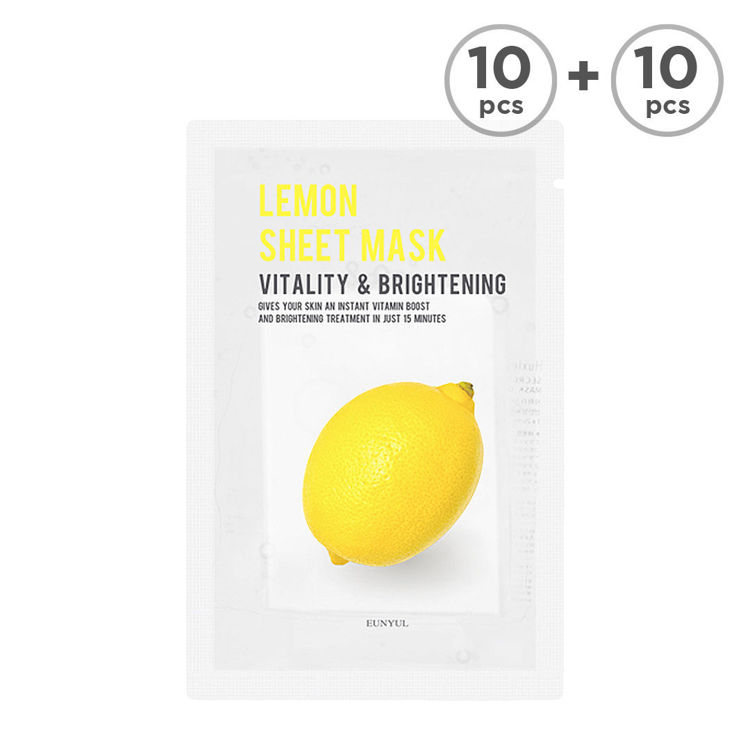 Picture of [BUY 10 GET 10 FREE] EUNYUL Purity Sheet Mask -Lemon