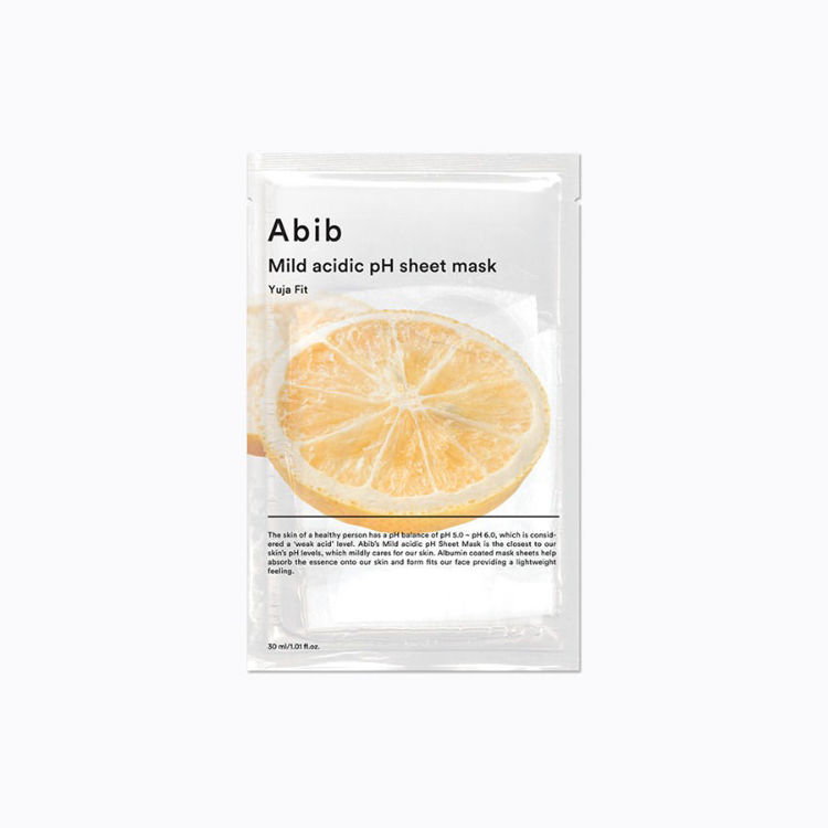 صورة ABIB Mild Acidic pH Sheet Mask Yuja Fit (10ea)